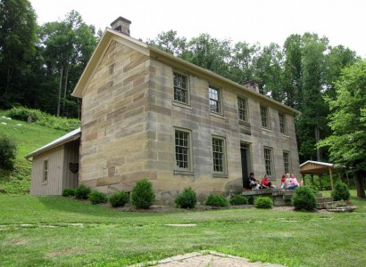 Kennedy Stone House Museum at Salt Fork State Park