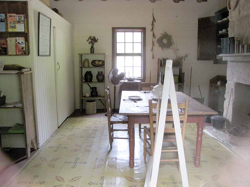 visiting the stone house museum rural ramblings. Black Bedroom Furniture Sets. Home Design Ideas