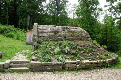 Root Cellar At Stone House Museum