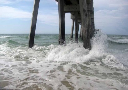 Pier At Panama City Beach, Florida.