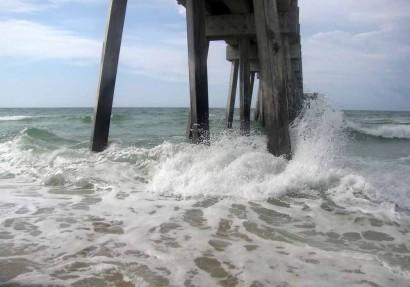 Pier At Panama City Beach, Florida.