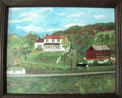 Old Lyne Homeplace in Eureka, West Virginia
