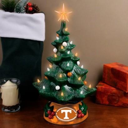 Tennessee Volunteers resin Christmas tree