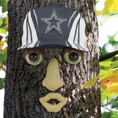 Dallas Cowboys tree face ornament