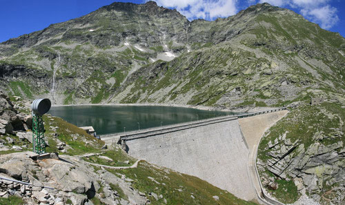 picture of Cingino dam