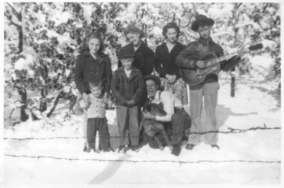 photo of kids in snow
