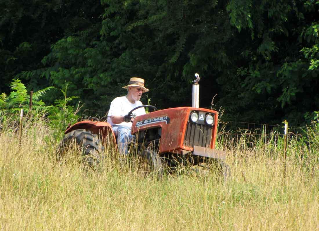 Farmer On Tractor : Happy birthday farmer rural ramblings