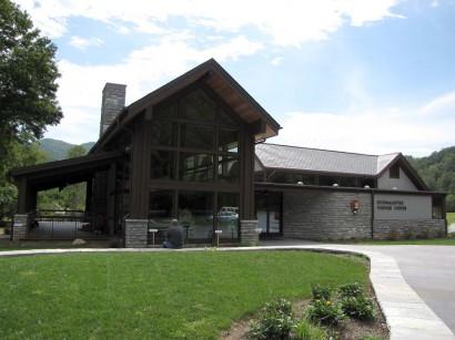 Oconaluftee Visitor Center picture
