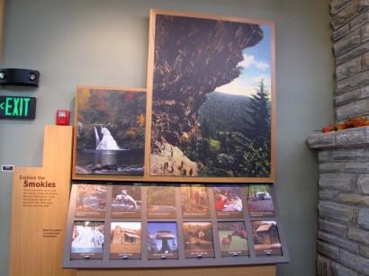 Oconaluftee Visitor Center Exhibit picture