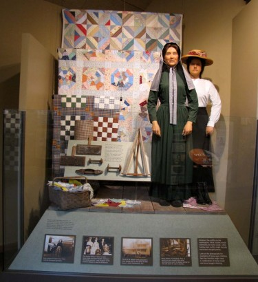 picture of exhibit at Oconaluftee Visitor Center